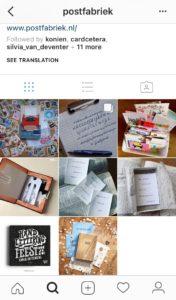 Postfabriek op Instagram