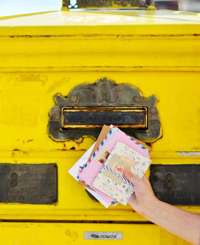 Briefkunst van Marieke Verlangen van Zusterhood op weg