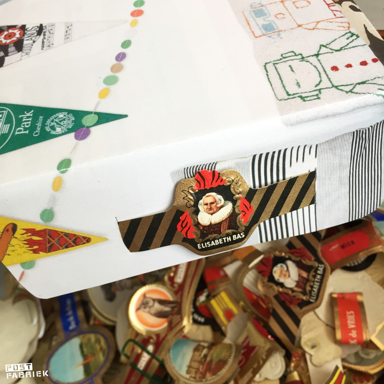 Sigarenbandjes om je poststukken mee te versieren