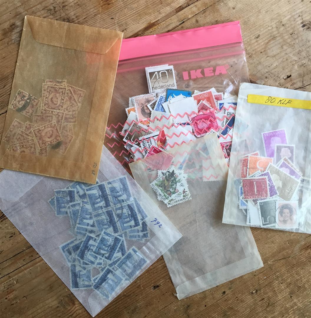 postzegels!