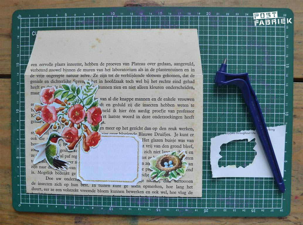 Gyro Cut (rotating blade): Useful for cutting illustrations and washi tape!