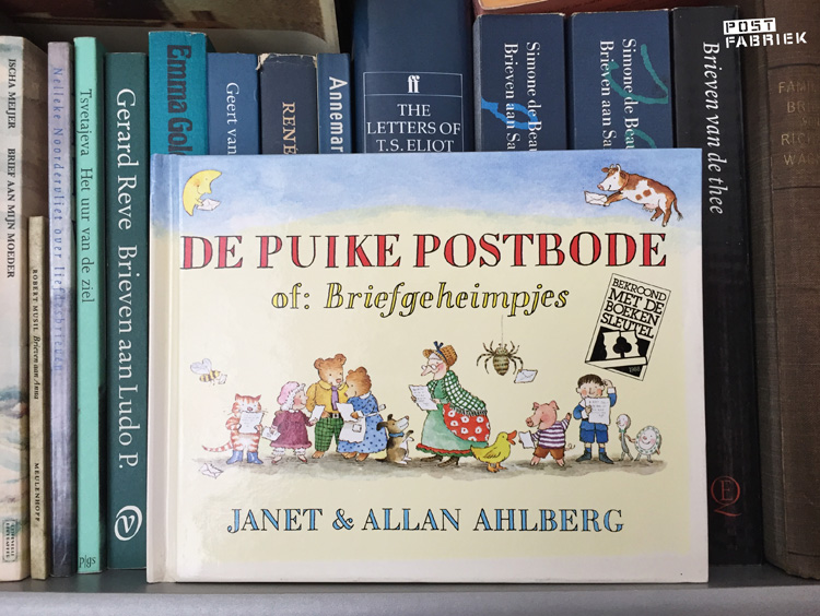 De puike postbode of: Briefgeheimpjes, een boek van Janet & Allan Ahlberg