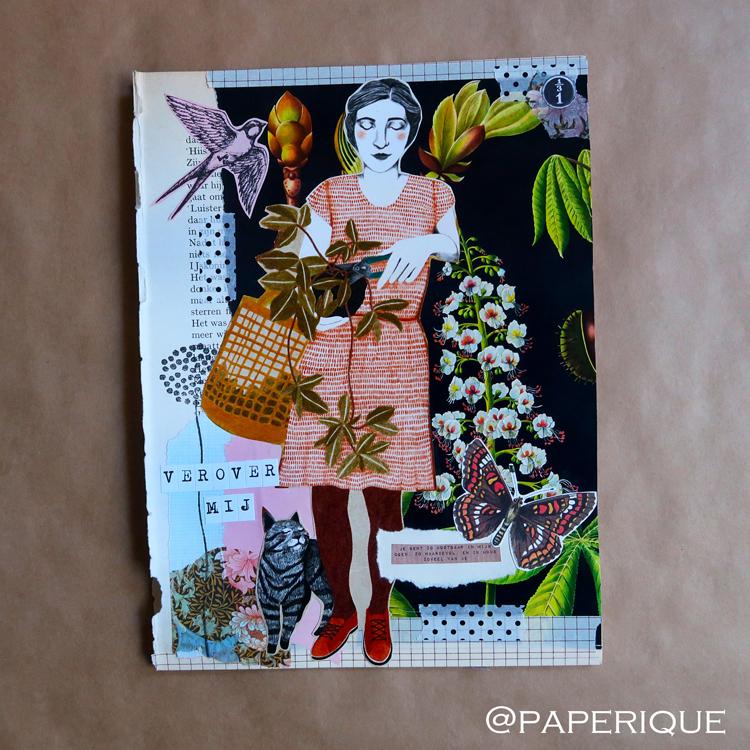 Zusterhood-post van 'Paperique' voor de derde ronde met het thema Contactadvertentie