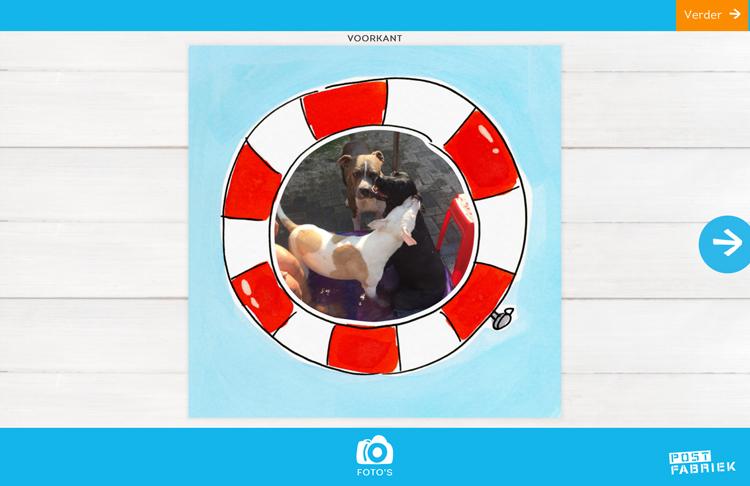 Nienke van de Postfabriek stuurt vakantiegroetjes vanuit huis met de fotokaarten van Greetz! Deze kaart wordt nog persoonlijker met eigen foto van .