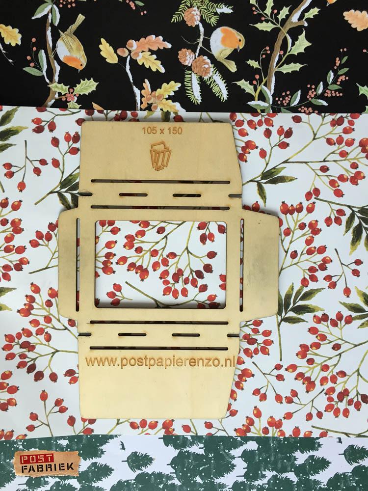 Zakjes vouwen van cadeaupapier van Vlinders in je buik