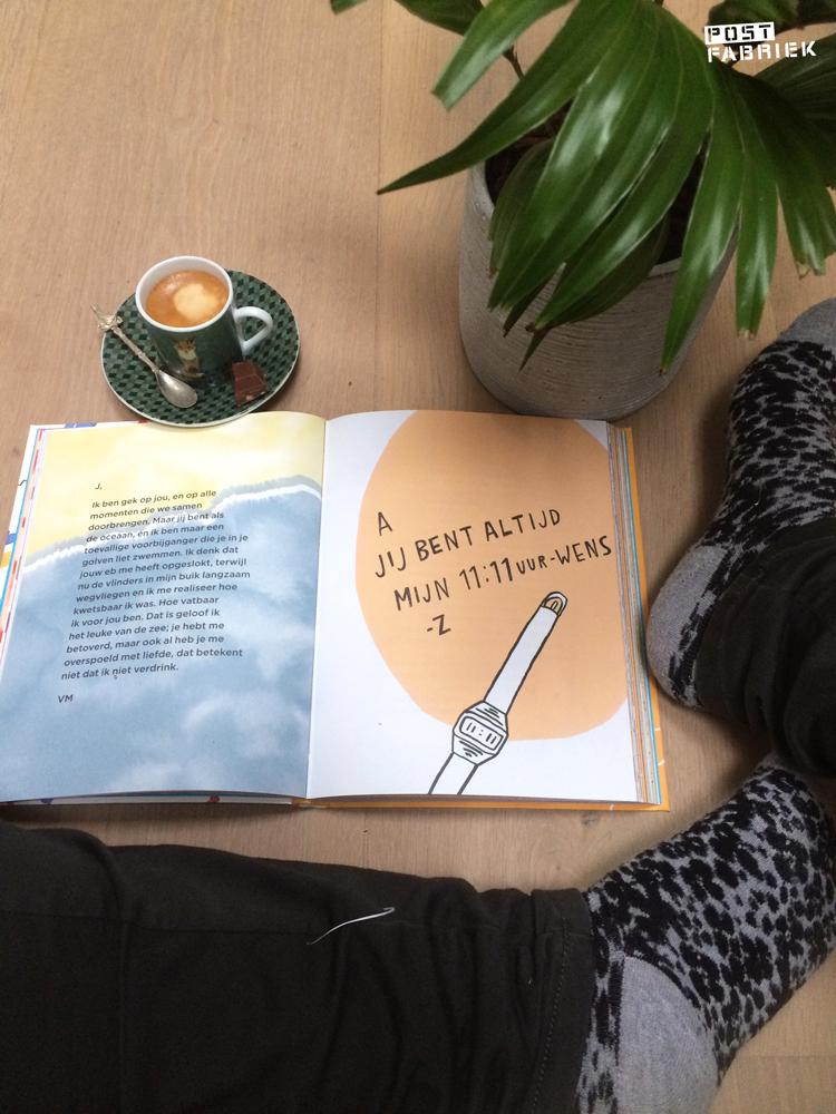 Het boek 'Aan mijn Lieve' van Emily Trunko