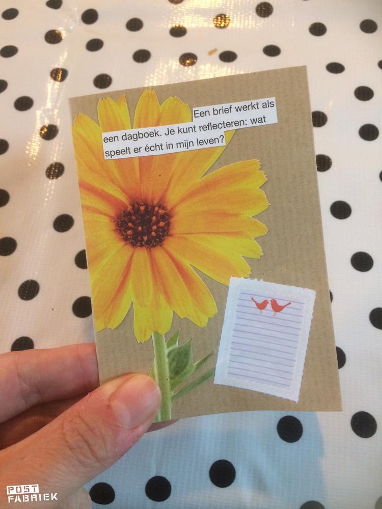 postboekje van 1 A4