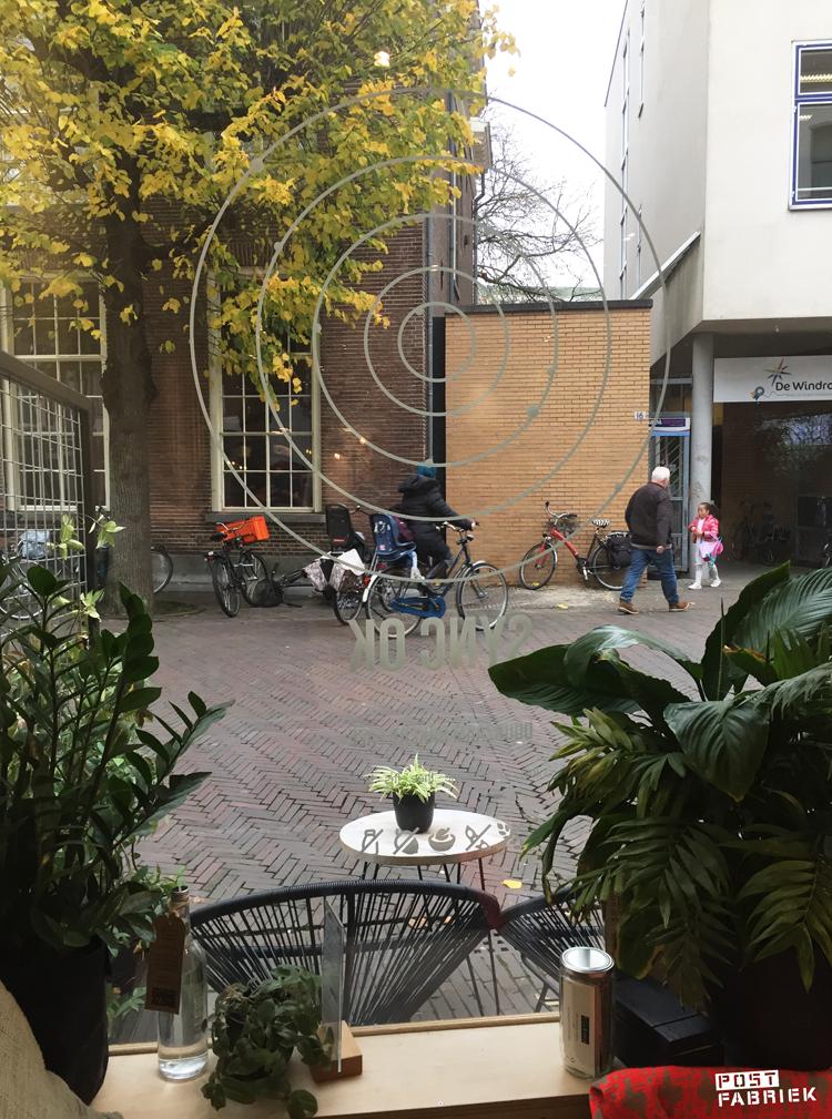 Uitzicht vanuit Sync Ok in Deventer