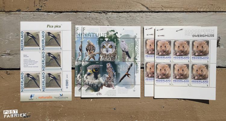 Ik bestelde postzegels met korting via PostzegelsMetKorting.nl en kreeg onder andere deze velletjes