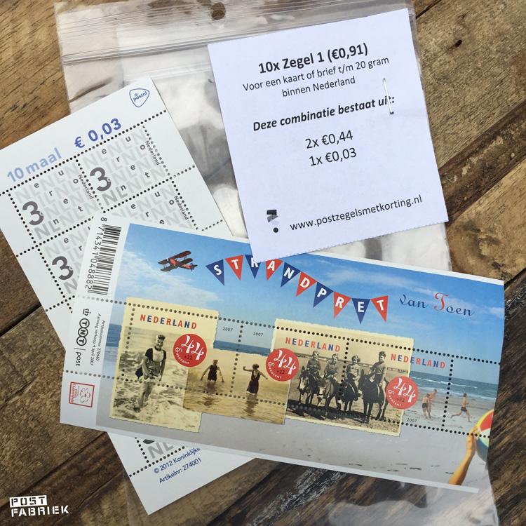 Het team van PostzegelsMetKorting.nl maakt het je makkelijk door combinaties van euro-postzegels voor je samen te stellen