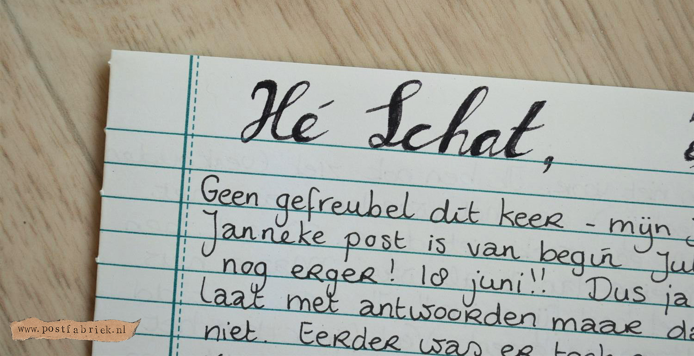 Uitzonderlijk Hand Lettering (tips voor het tekenen van mooie letters) - Postfabriek &QP91