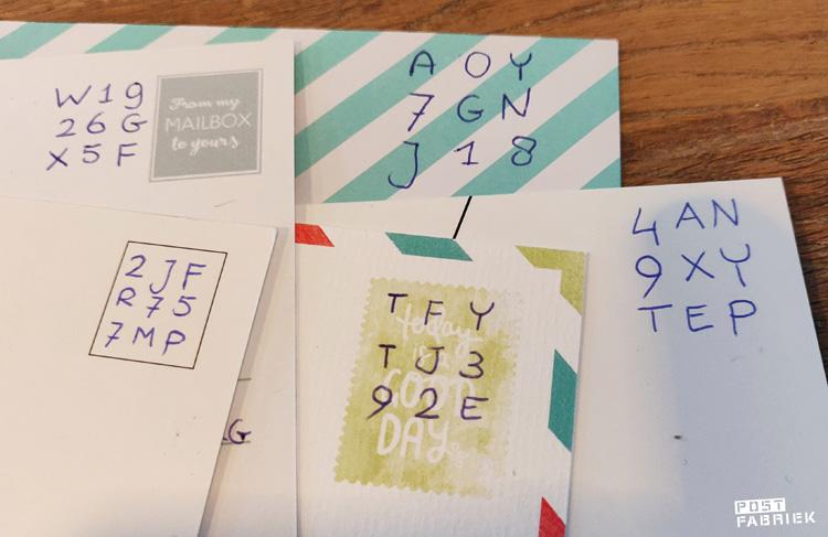 Postzegelscodes: een handige, snelle manier op de post te frankeren als je geen postzegels bij je hebt