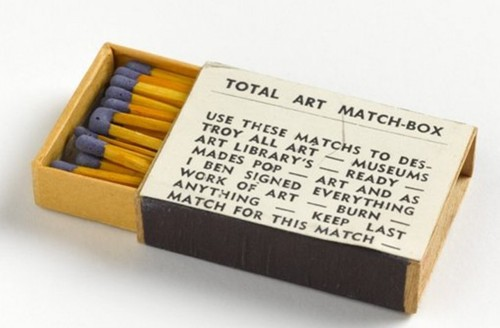 Total Art Match-Box van Ben Vautier.