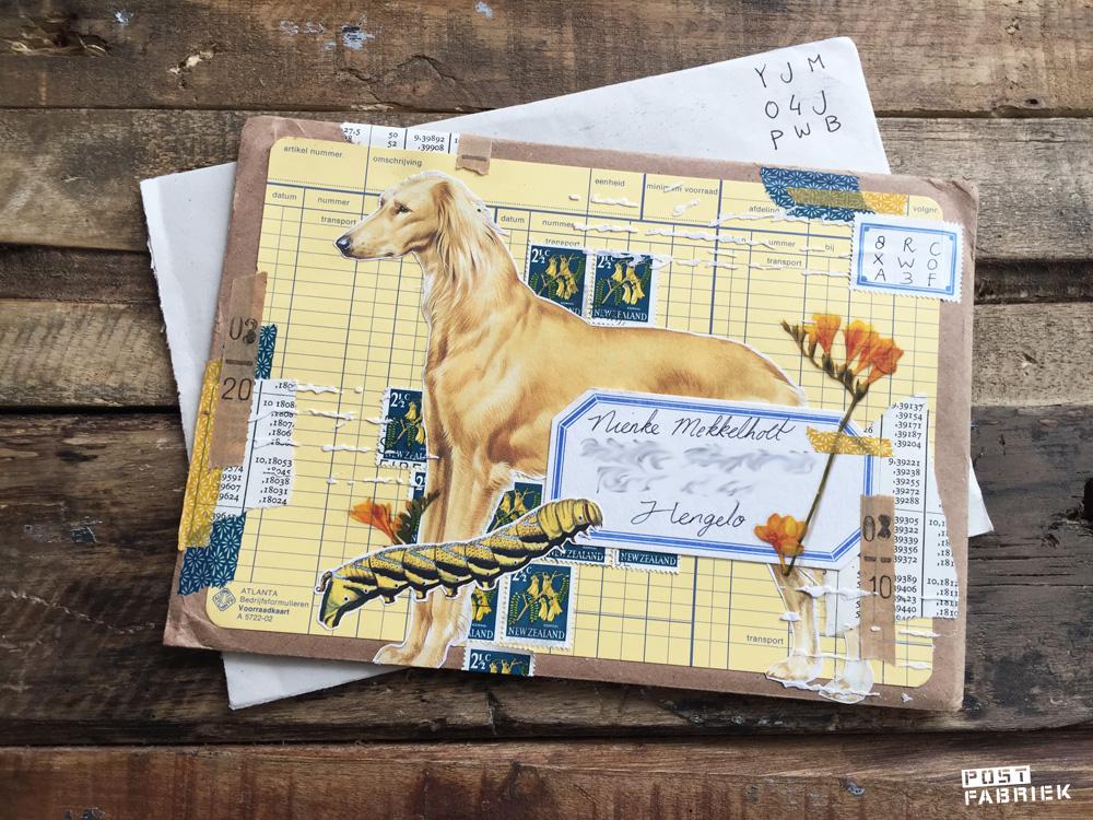 Ruchama maakt graag op creatieve wijze gebruik van de postzegelcode